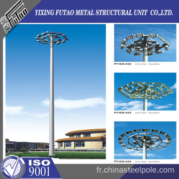 30 M High Mast Lighting Steel Pole